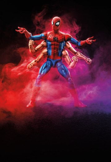 Marvel Legends Series 6-inch Six Arm Spider-Man Figure (Spider-Man wave)__scaled_600